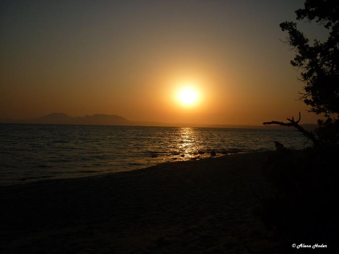 Reisefotografie Sonnenuntergang Kos