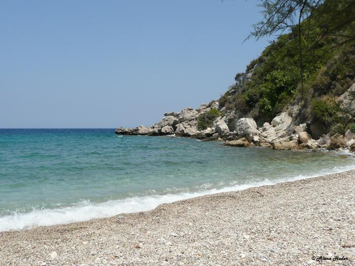 Riesefotografie Traumstrand - Samos
