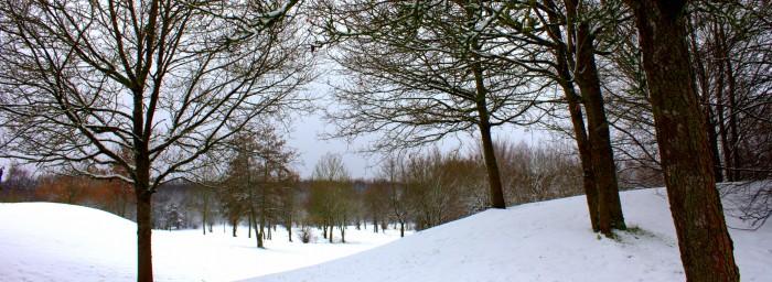 Westerwald Winterlandschaft