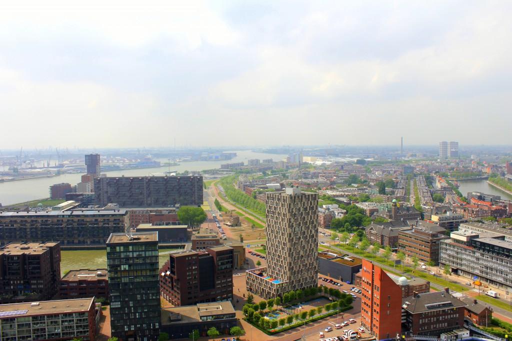 Ausblick Euromast Rotterdam