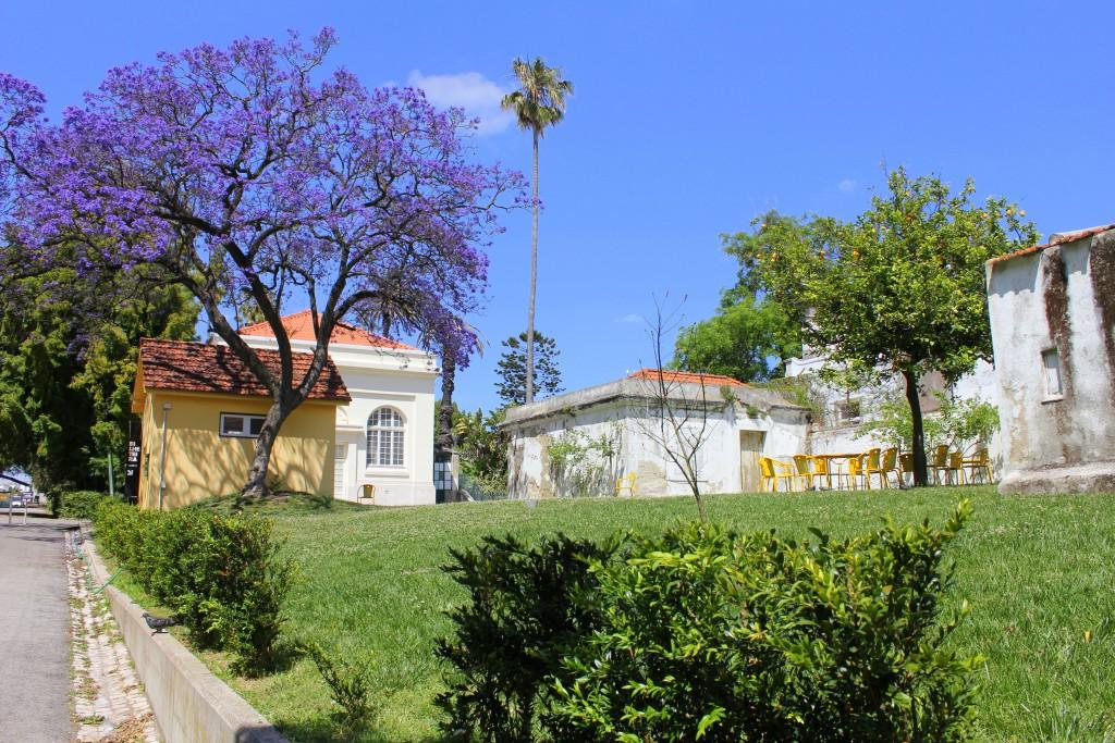 Lissabon Eingang botanischer Garten