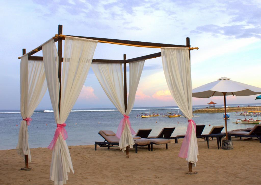 Nusa Dua Beach House Strandbett