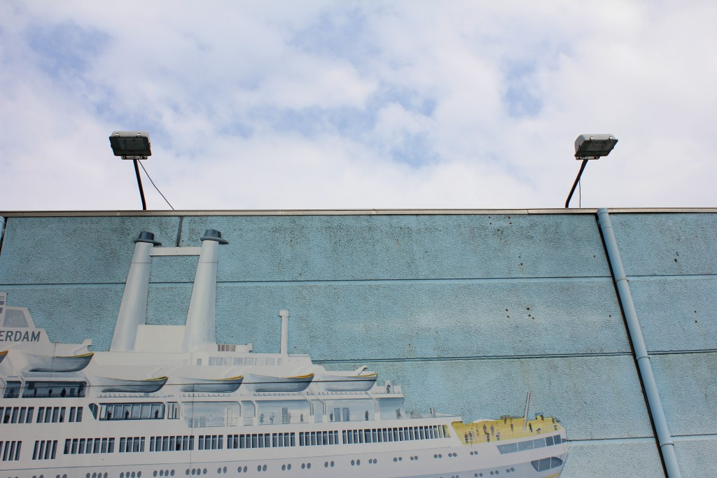 Rotterdam Schiff Graffitti