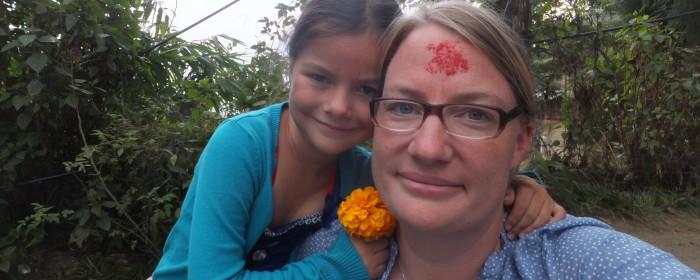 Eva mit Tochter