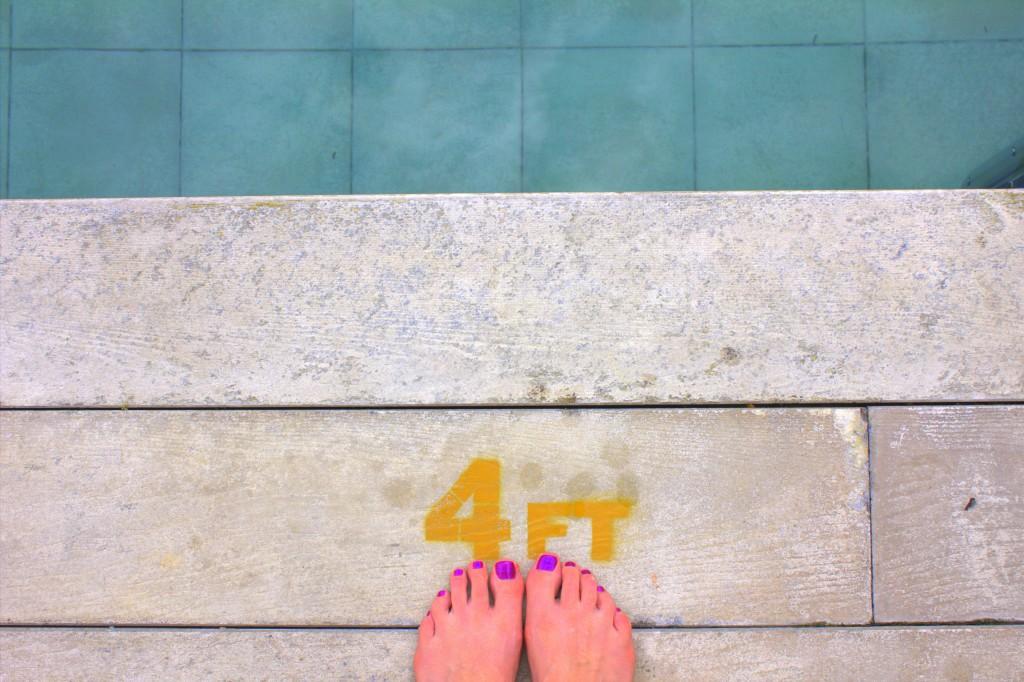 Malaysia Belum - Pool Füße