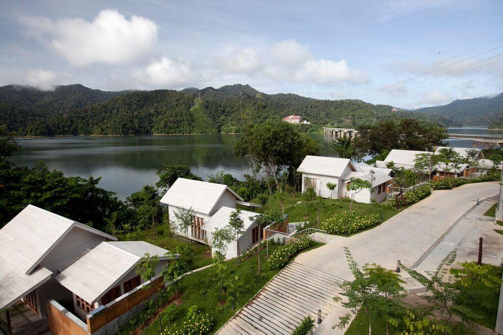 Malaysia Rainforest Resort von oben