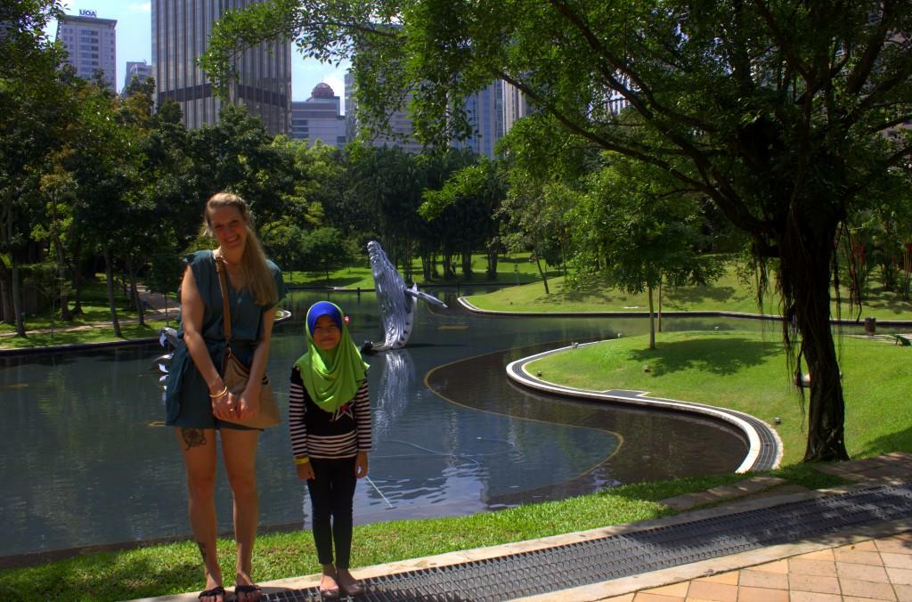 Park Kuala Lumpur little girl