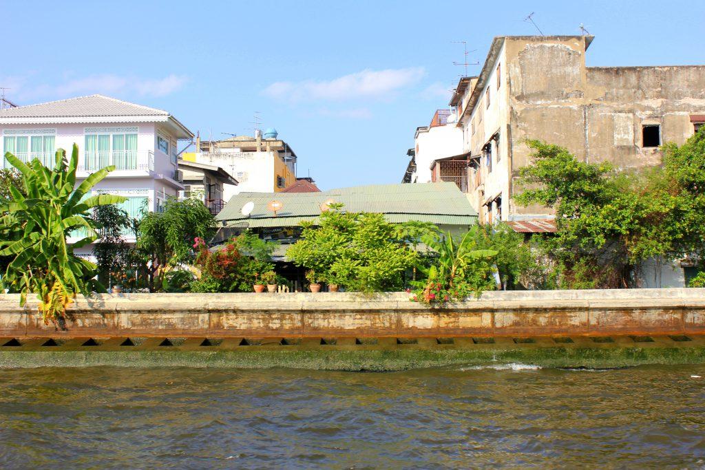 Bangkok Flussrand