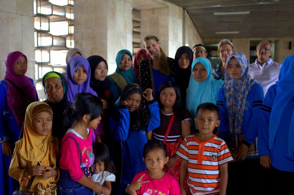Gruppenbild Moschee