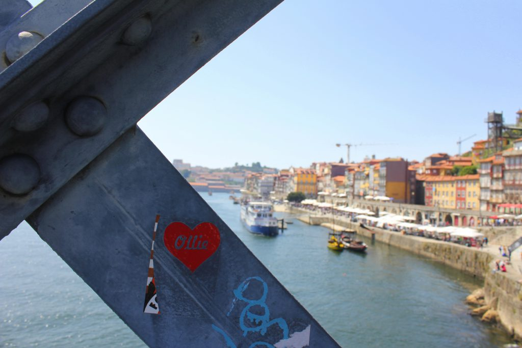 Porto Brückenpfeiler