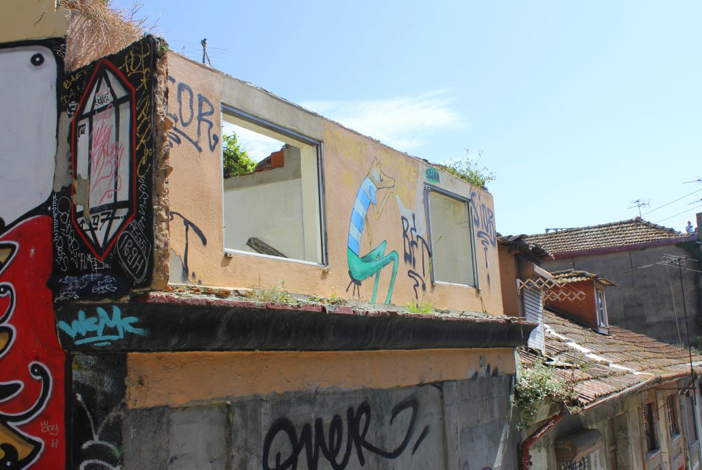 Porto verfallenes Haus