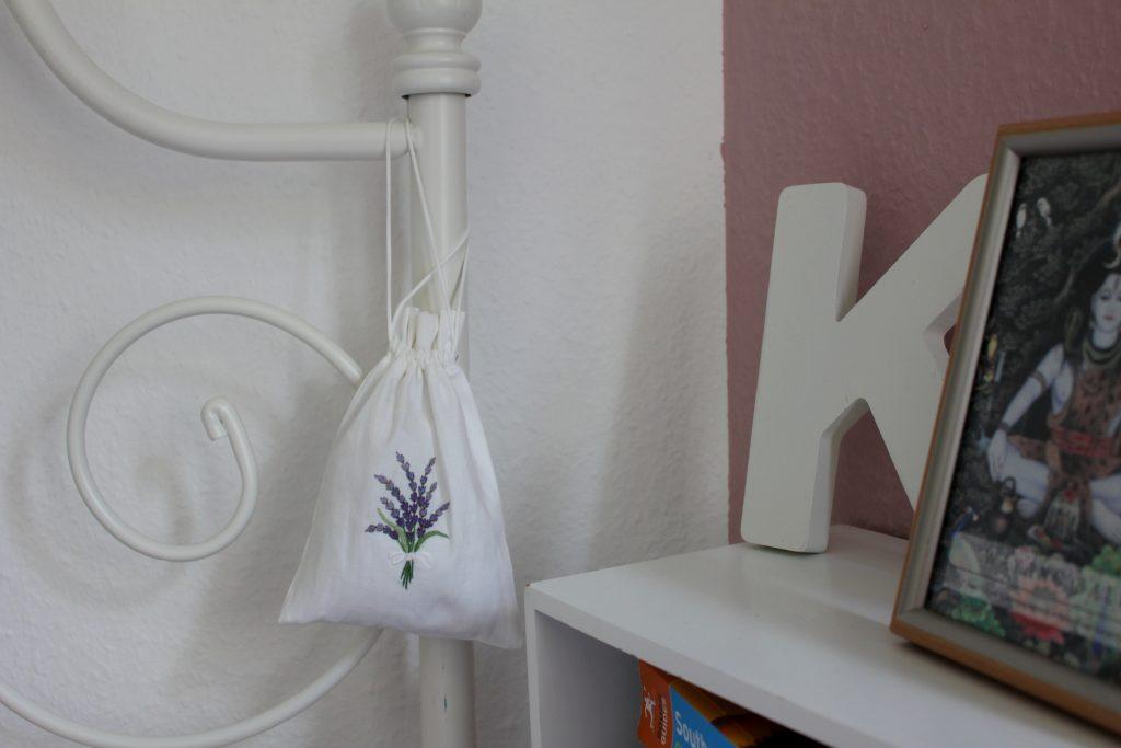 Bett Lavendel