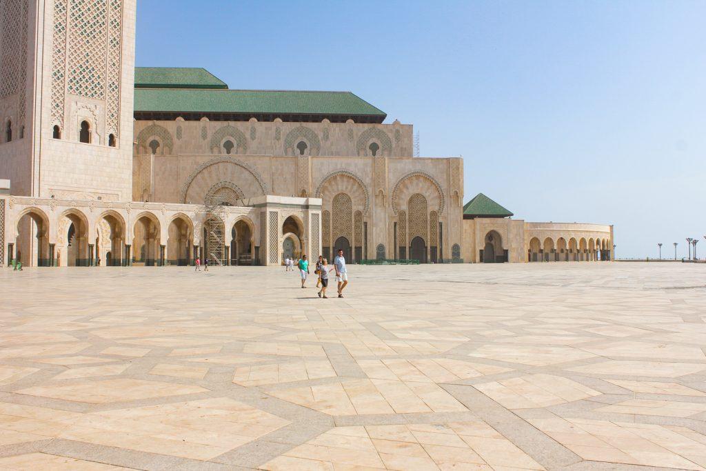 Hassan II Moscheee, die größte Afrikas