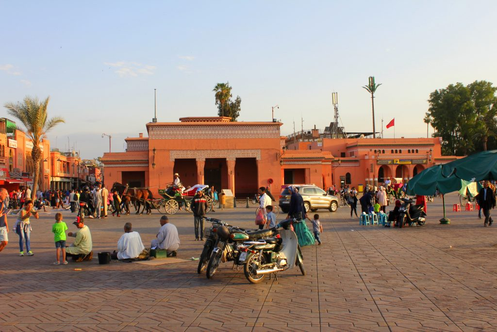 Marokko medina