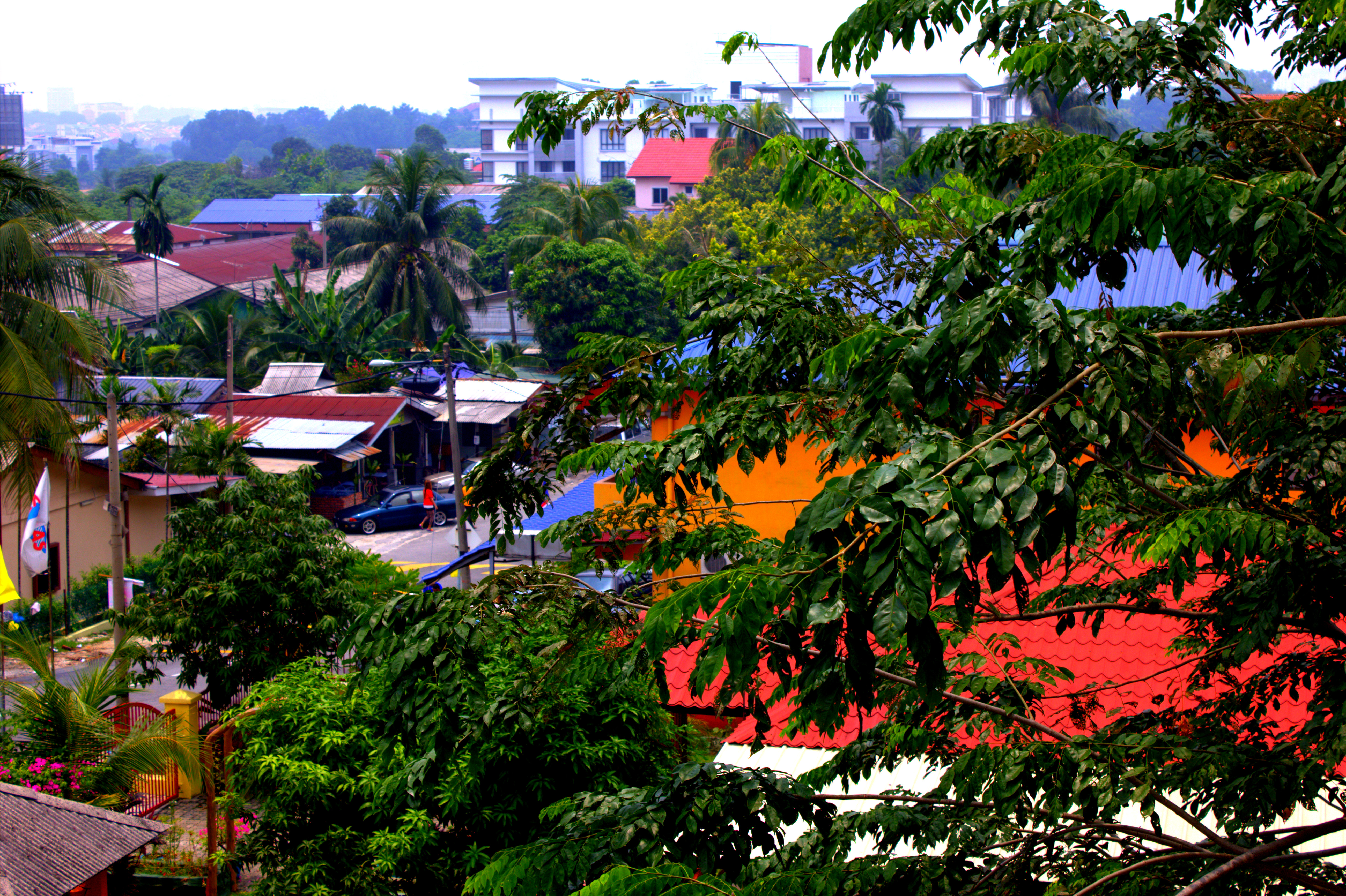 Malaysia - Blick aus dem Fenster