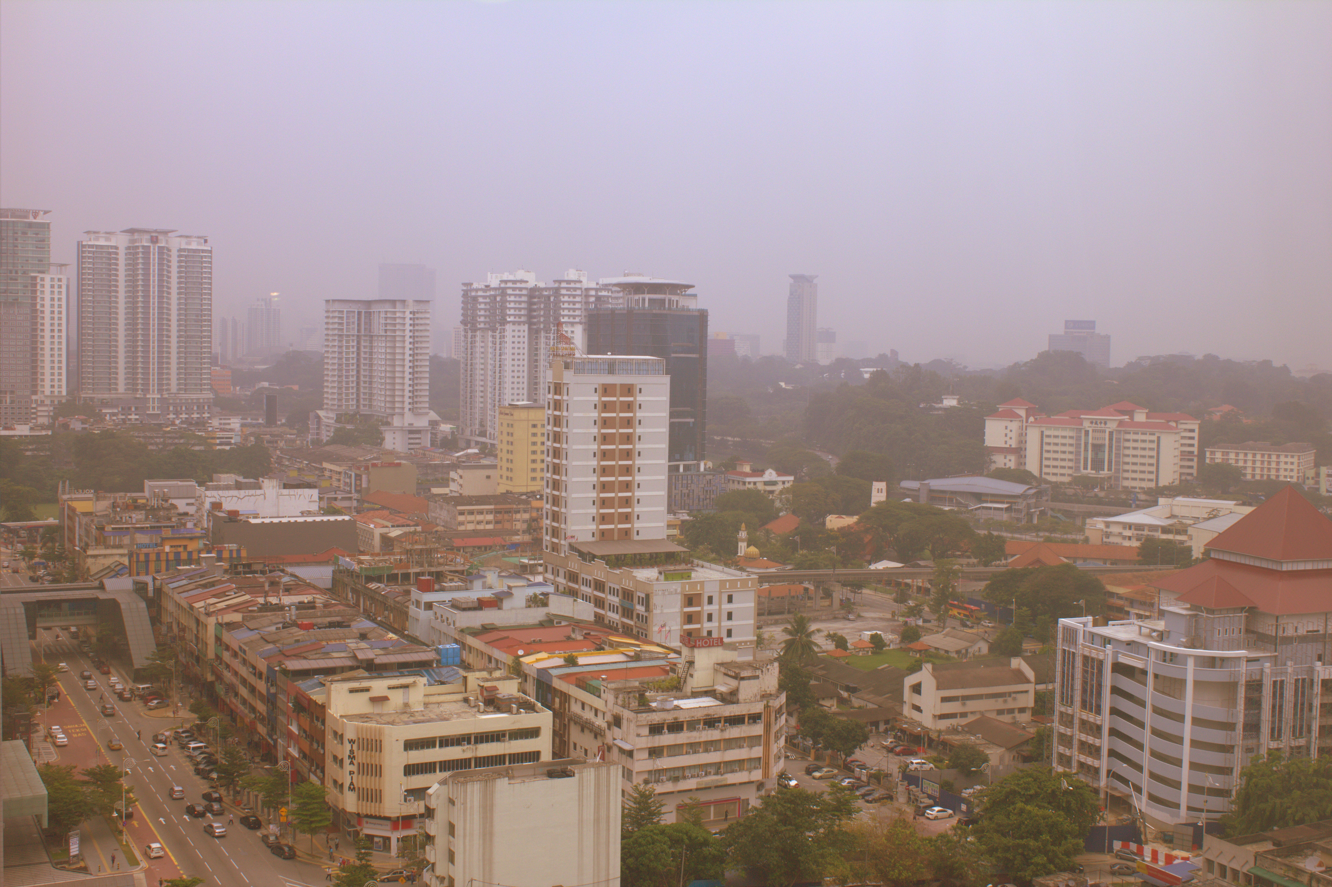 Malaysia - KL im Haze