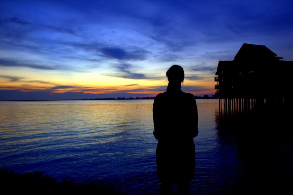 Langkawi Sonnenuntergang Silouette