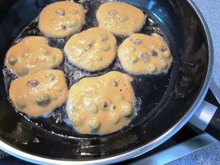 Kichererbsenküchlis Zubereitung