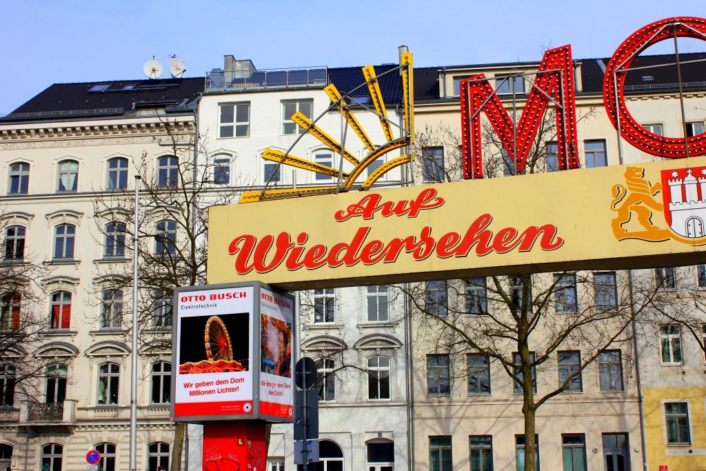 Hamburg auf Wiedersehen