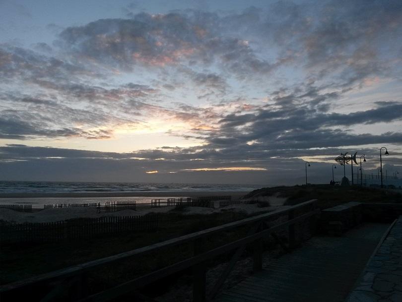 Sonnenuntergang in Tarifa