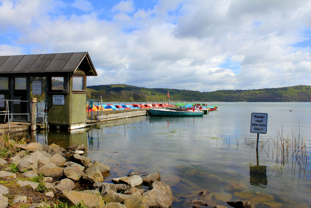 Laacher See Boote