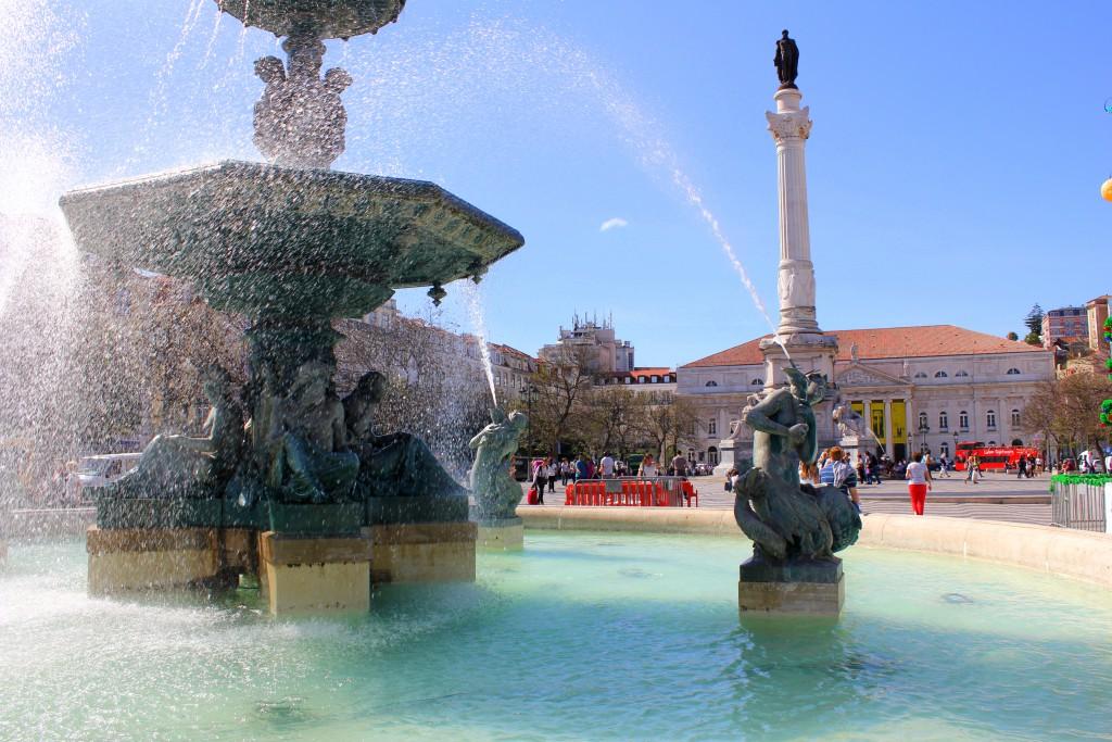Lissabon Brunnen
