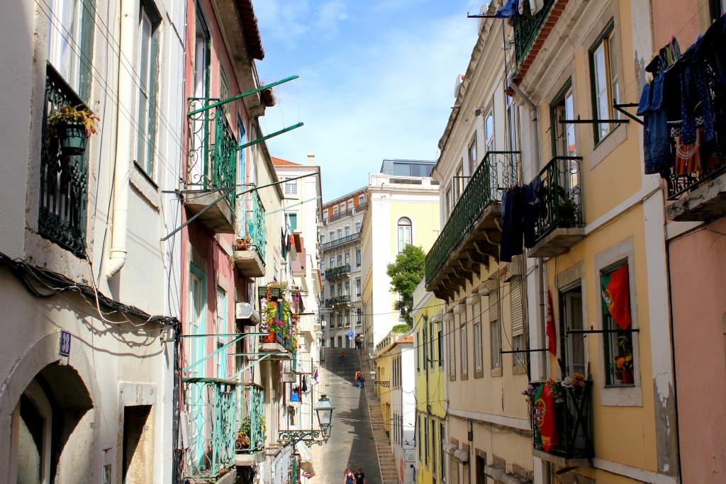 Lissabon Gasse