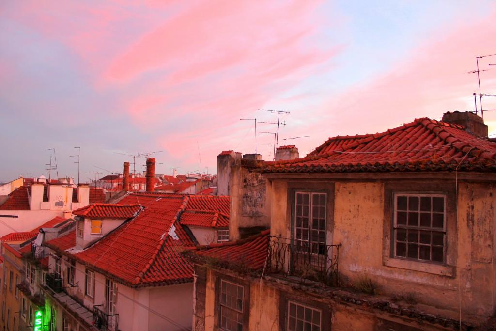 Lissabon Sonnenuntergang