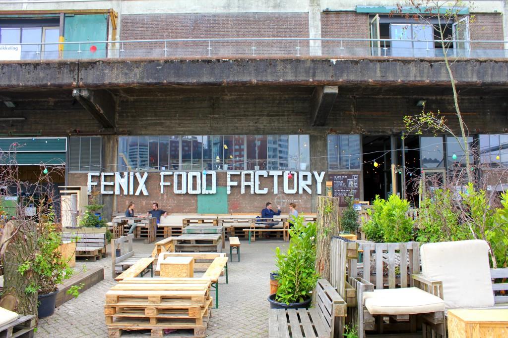 Rotterdam Fexix Food Factory außen