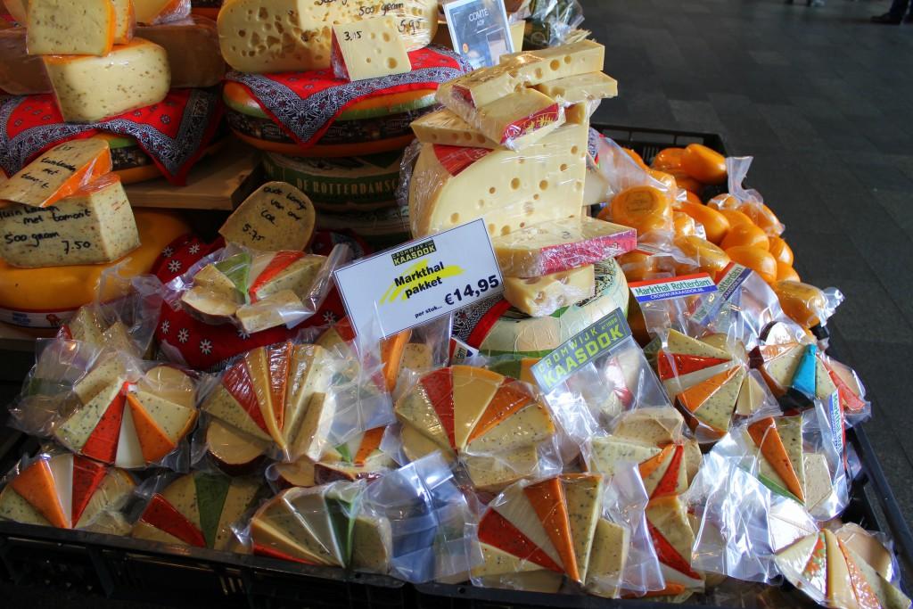 Rotterdam Markthalle Käse