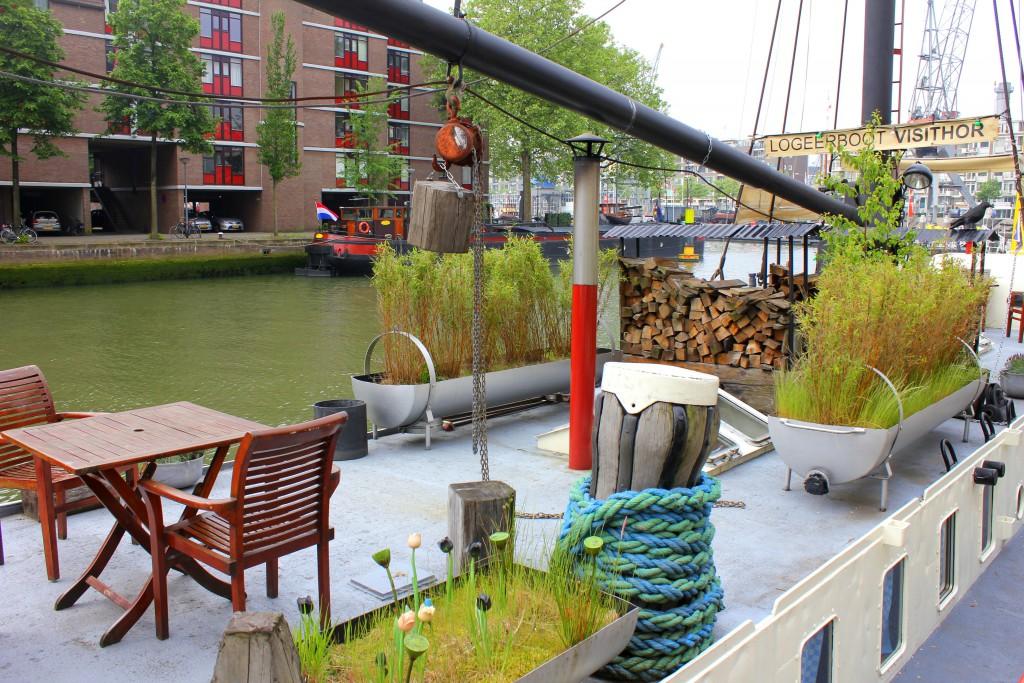 Rotterdam Wijnhaven Hausboot