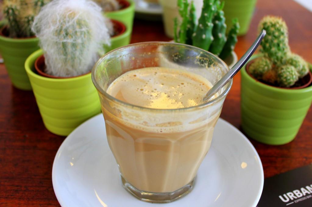 Kaffee im Glas im Urban 9