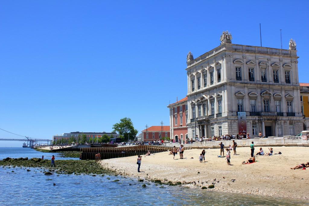 Lissabon Stadtstrand
