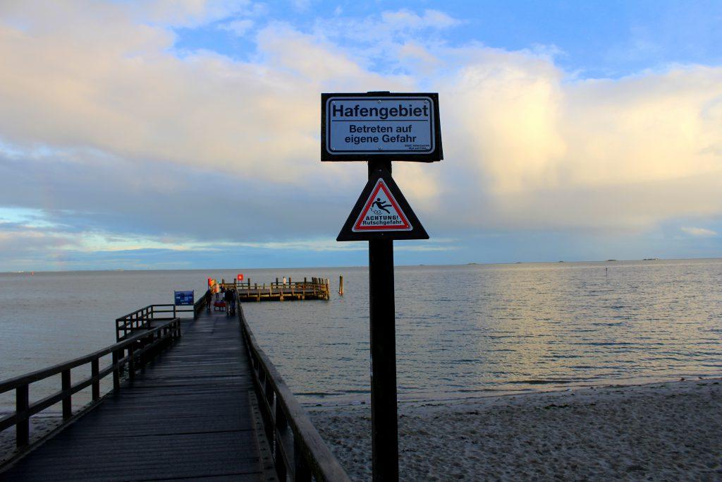 Föhr Hafengebiet