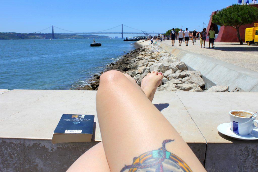 Relaxen am Wasser Lissabon