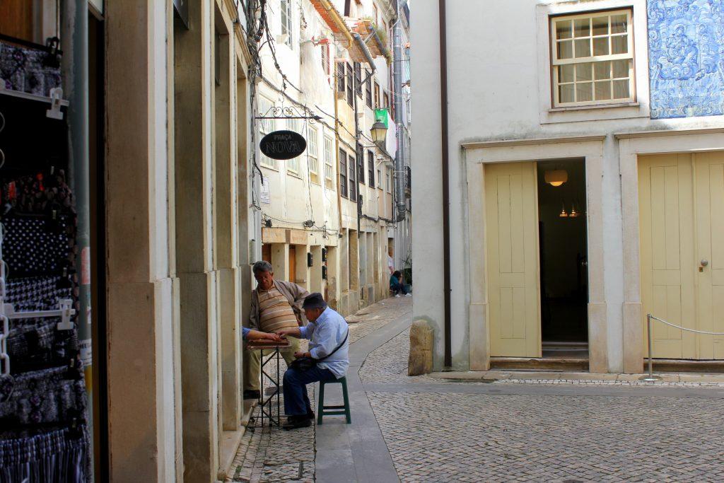 Coimbra alte Männer