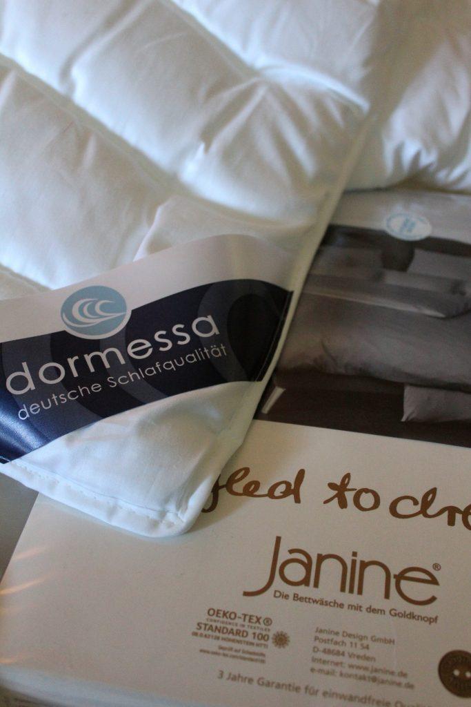 Dormessa und Bettwäsche