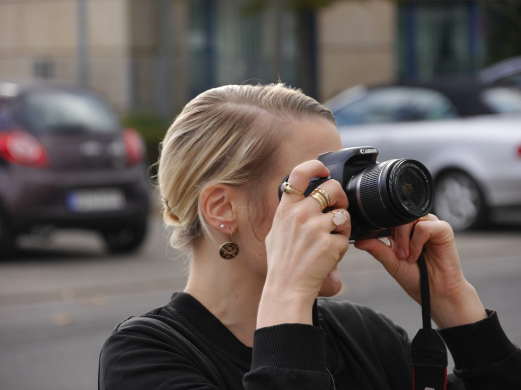 beim Fotografieren