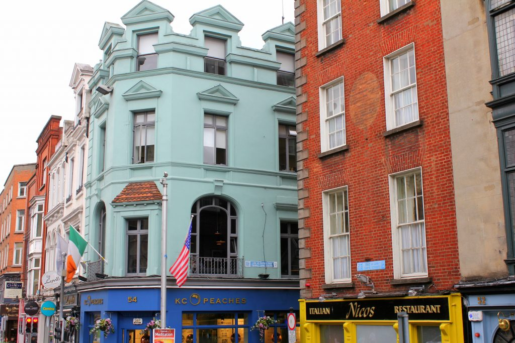 Dublin bunte Häuser