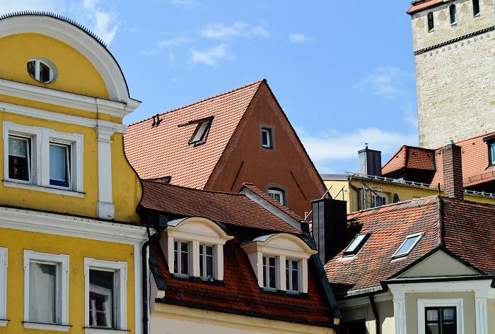 Regensburg_Häuserfassade