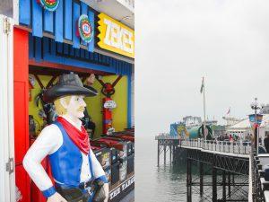 Am Hafen von Brighton