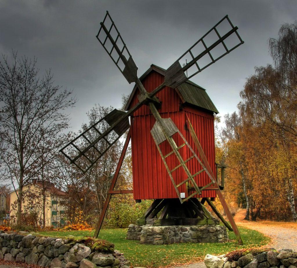 Schweden Urlaub - Mühle