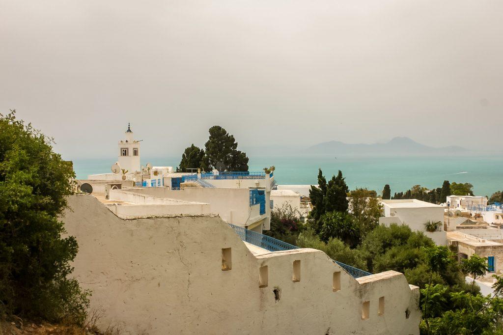 Ausblick Sidi Bou Said