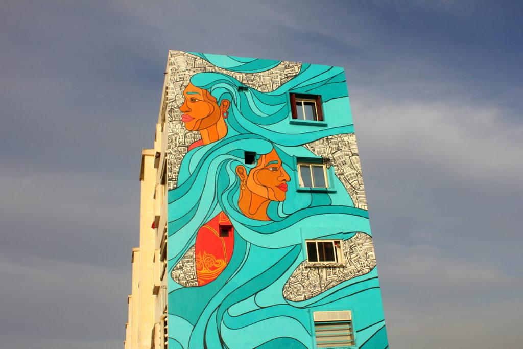 Casablanca Marokko Streetart