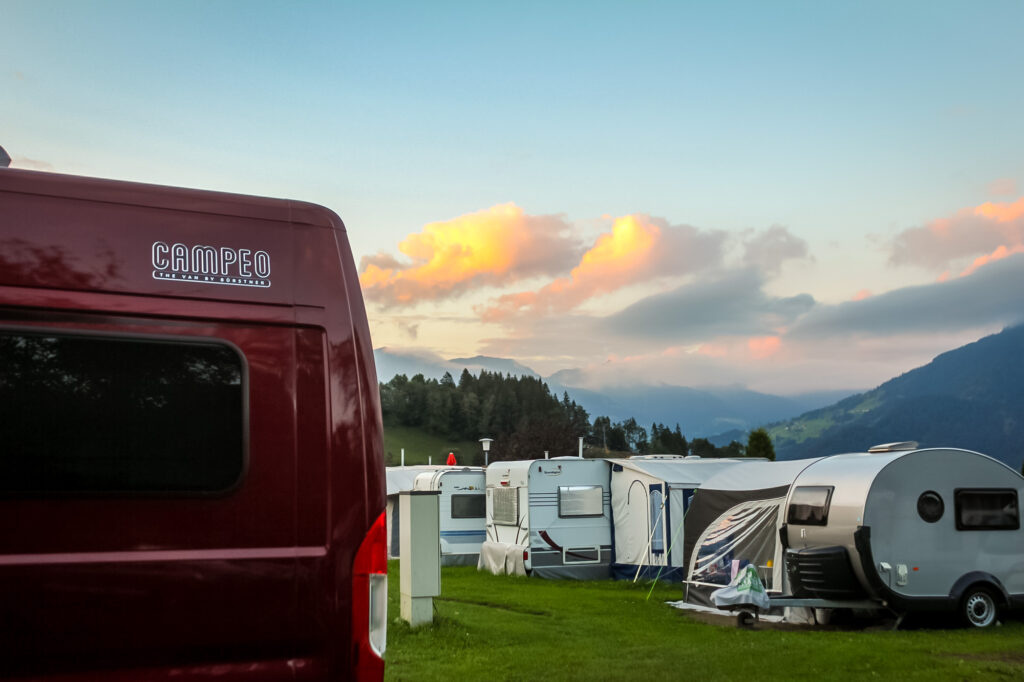 Campervan Rundreise Österreich